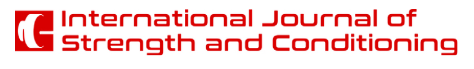 International Journal of Strength and Conditioning logo